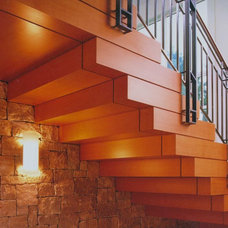 Contemporary Staircase by C Wright Design