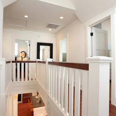 Traditional Staircase by Mark Becker Inc
