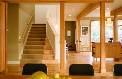 Modern Staircase by Ben Trogdon Architects