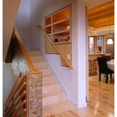 Contemporary Staircase by Ben Trogdon Architects