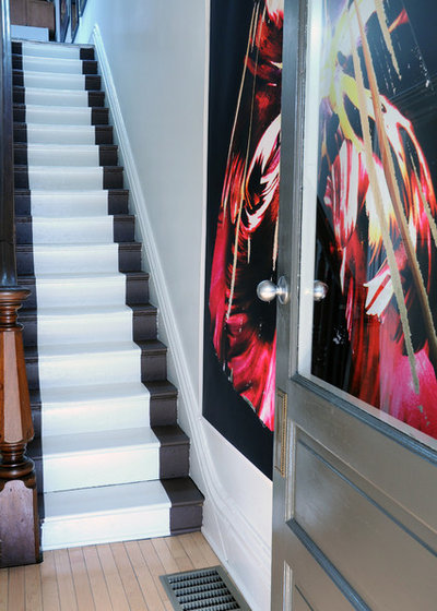 Eclectic Staircase by Gavin Benjamin