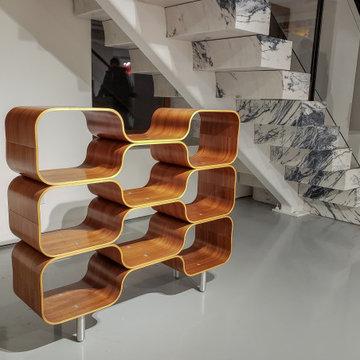 Bent plywood furniture