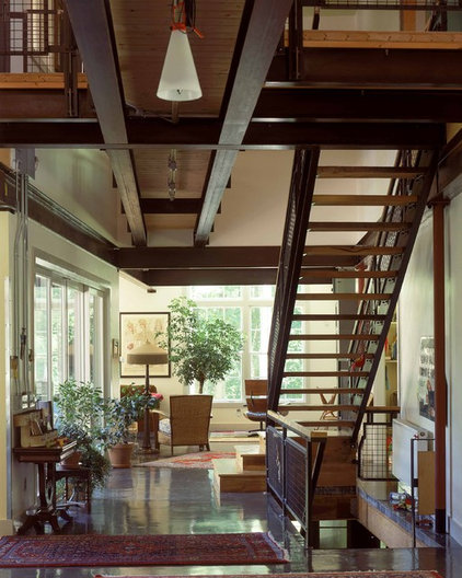 Industrial Staircase by Burr & McCallum Architects