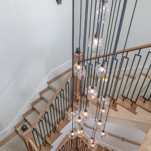 Staircase   Transitional Staircase Idea In San Francisco