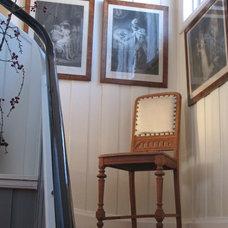 Traditional Staircase by ACR Villa Skovly