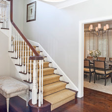 Traditional Staircase by Smith Firestone Associates