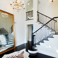 Transitional Staircase by Elite Remodeling & Construction