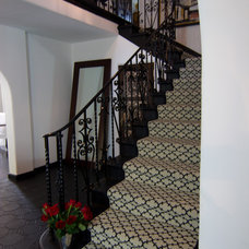 Traditional Staircase by Georgette Westerman Interiors