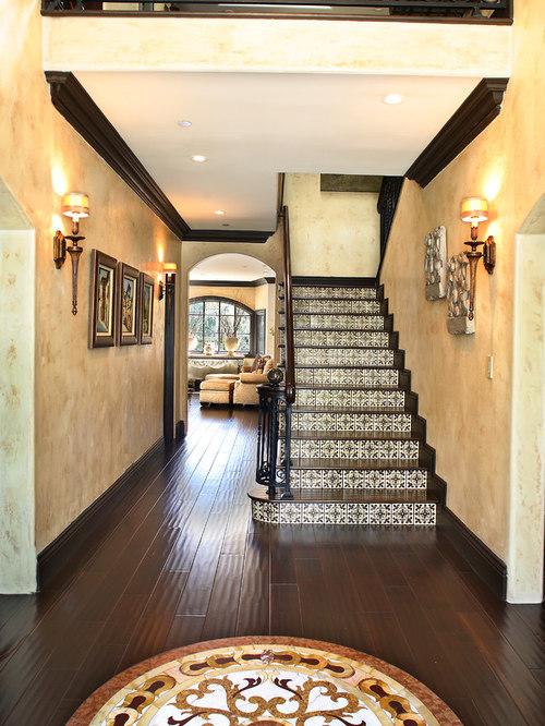 Ceramic Tile Stair Houzz