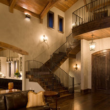 Eclectic Staircase by Daryl S. Rantis Architect