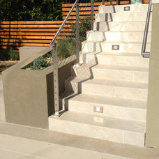 Contemporary Staircase by Urban Green