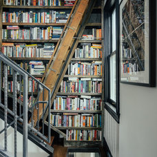 Industrial Staircase by McIntosh Poris Associates
