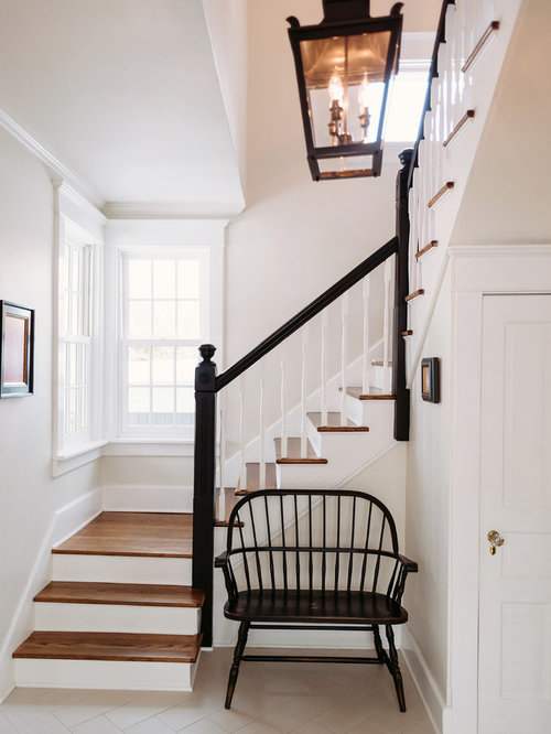 Best Farmhouse Staircase Design Ideas & Remodel Pictures ...