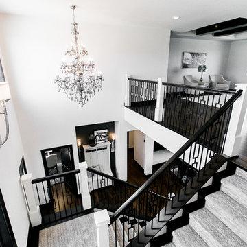 Black and White Modern Design- Bismarck