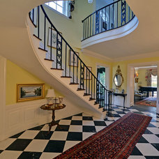 Traditional Staircase by Envision Web