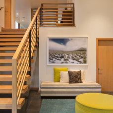 Modern Staircase by Giulietti Schouten Architects