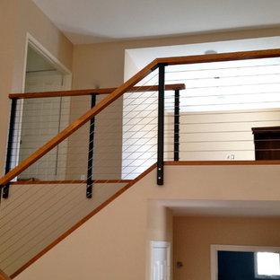 Новый формат декора квартиры: лестница в стиле модернизм