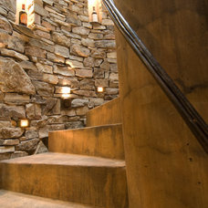 Traditional Staircase by Fuse Architects, Inc.