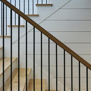 Exemple d'un escalier industriel.