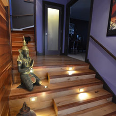 Asian Staircase by Gary Blackhawk