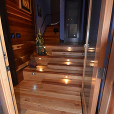 Contemporary Staircase by Gary Blackhawk