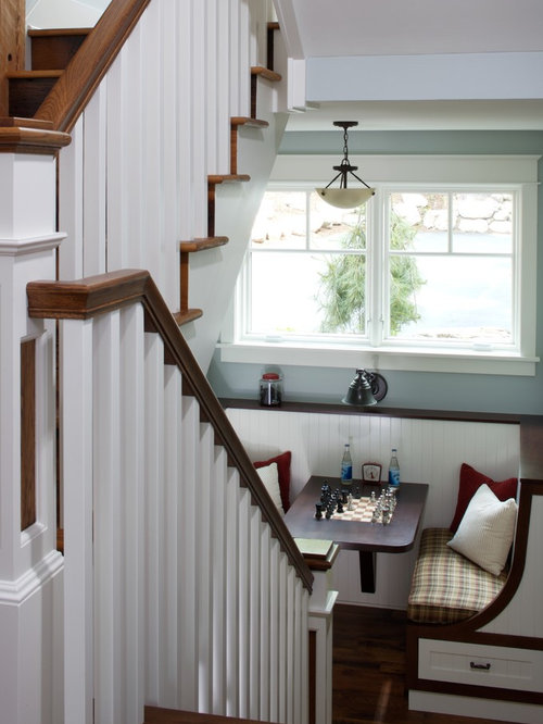 Elegant Wooden Staircase Photo In Grand Rapids