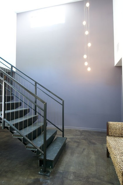 Contemporary Staircase by Built Incorporated