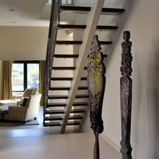 Contemporary Staircase by Michael Fullen Design Group