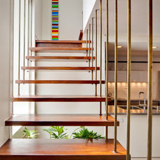 Modern Staircase by A.GRUPPO Architects - San Marcos