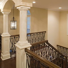 Traditional Staircase by Alexander Design Group, Inc.