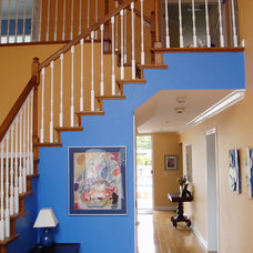 Eclectic Staircase by JTR  Contractors Inc.