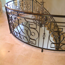 Traditional Staircase by Signature Designs Kitchen & Bath