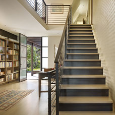 Contemporary Staircase by DeForest Architects