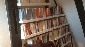 Book Storage in Tudor Cottage