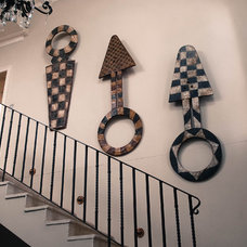 Eclectic Staircase by Monica Kovacic