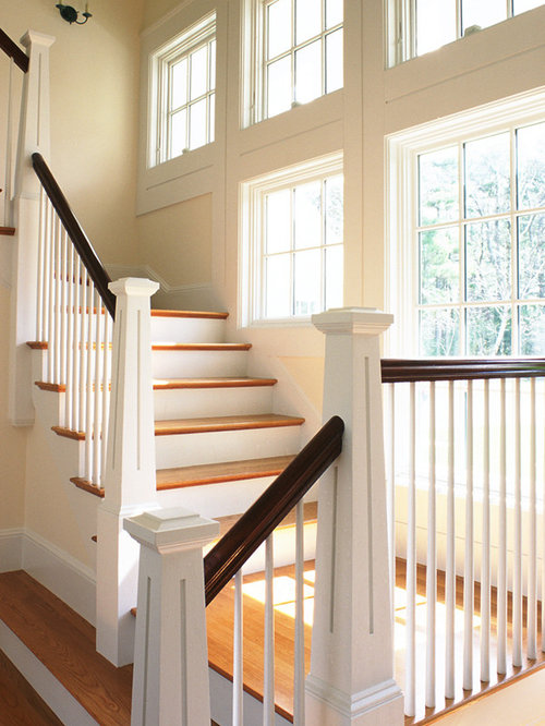 Tapered Newel Post Home Design Ideas Pictures Remodel