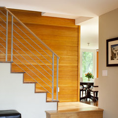 modern staircase by Melton Design Build