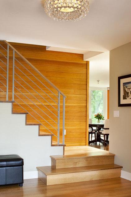 Modern Staircase by Melton Design Build