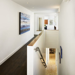 modern staircase by Risinger Homes