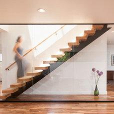 Contemporary Staircase by Hsu McCullough
