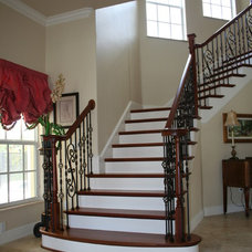Mediterranean Staircase by Southern Stair Company