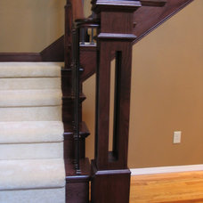 Traditional Staircase by Portland Stair Company