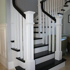 Traditional Staircase by Southern Stair Company