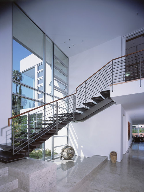 Steel Staircase Design Ideas Amp Remodel Pictures Houzz