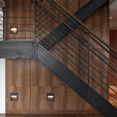 modern staircase by Bradley Thiergartner Interiors