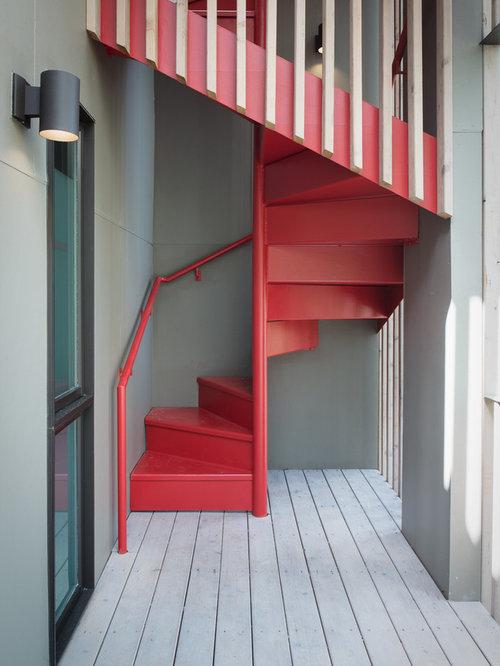Space Saving Spiral Staircase Houzz