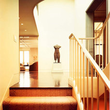 Contemporary Staircase by BraytonHughes Design Studios