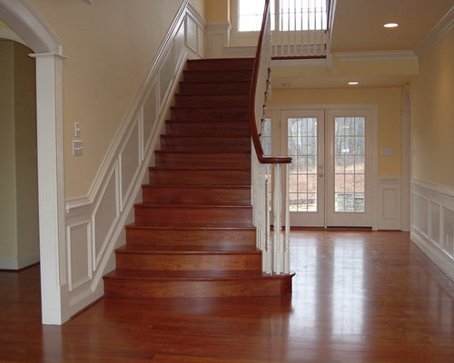 Brazilian Cherry Stair Home Design Ideas Pictures