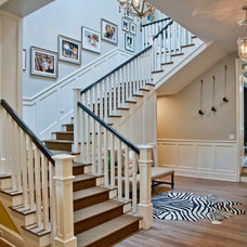 Traditional Staircase by P2 Design