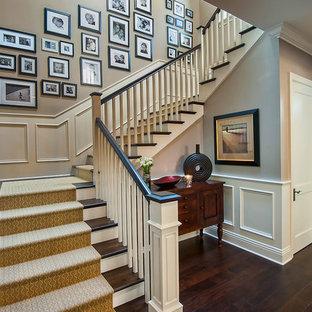 Foto på en vintage trappa